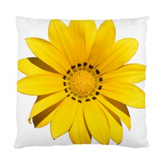Transparent Flower Summer Yellow Standard Cushion Case (two Sides)