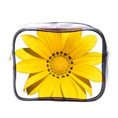 Transparent Flower Summer Yellow Mini Toiletries Bags