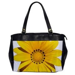 Transparent Flower Summer Yellow Office Handbags