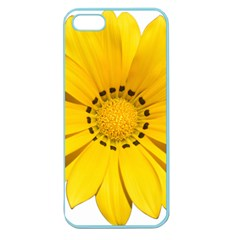 Transparent Flower Summer Yellow Apple Seamless iPhone 5 Case (Color)