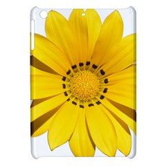 Transparent Flower Summer Yellow Apple iPad Mini Hardshell Case