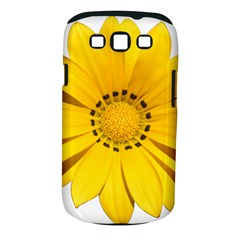 Transparent Flower Summer Yellow Samsung Galaxy S III Classic Hardshell Case (PC+Silicone)