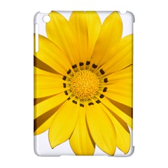 Transparent Flower Summer Yellow Apple Ipad Mini Hardshell Case (compatible With Smart Cover)