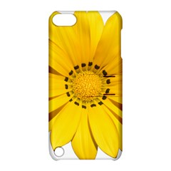 Transparent Flower Summer Yellow Apple iPod Touch 5 Hardshell Case with Stand