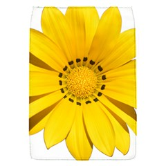 Transparent Flower Summer Yellow Flap Covers (S)