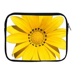 Transparent Flower Summer Yellow Apple iPad 2/3/4 Zipper Cases