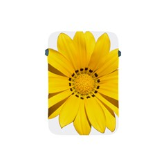 Transparent Flower Summer Yellow Apple iPad Mini Protective Soft Cases