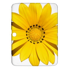 Transparent Flower Summer Yellow Samsung Galaxy Tab 3 (10 1 ) P5200 Hardshell Case