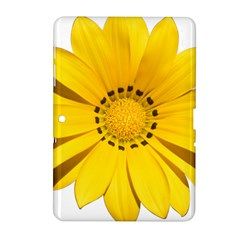 Transparent Flower Summer Yellow Samsung Galaxy Tab 2 (10.1 ) P5100 Hardshell Case