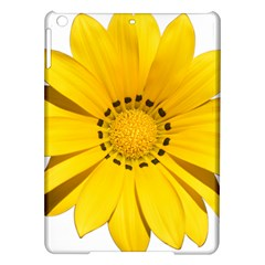 Transparent Flower Summer Yellow iPad Air Hardshell Cases