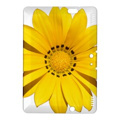 Transparent Flower Summer Yellow Kindle Fire HDX 8.9  Hardshell Case
