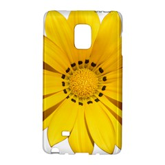 Transparent Flower Summer Yellow Galaxy Note Edge