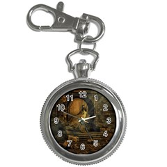 Woman Lost Model Alone Key Chain Watches