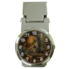 Woman Lost Model Alone Money Clip Watches