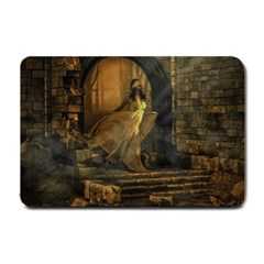 Woman Lost Model Alone Small Doormat