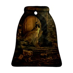 Woman Lost Model Alone Bell Ornament (two Sides)