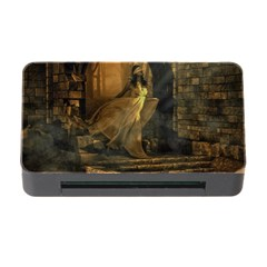 Woman Lost Model Alone Memory Card Reader with CF