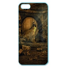Woman Lost Model Alone Apple Seamless iPhone 5 Case (Color)
