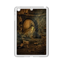 Woman Lost Model Alone iPad Mini 2 Enamel Coated Cases