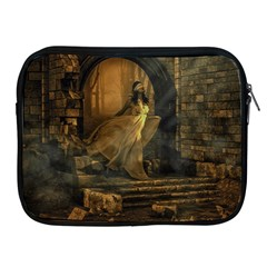 Woman Lost Model Alone Apple iPad 2/3/4 Zipper Cases