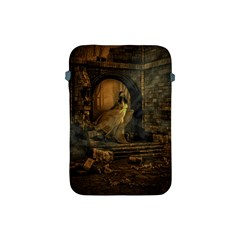 Woman Lost Model Alone Apple iPad Mini Protective Soft Cases