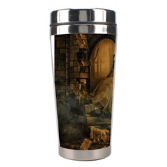 Woman Lost Model Alone Stainless Steel Travel Tumblers