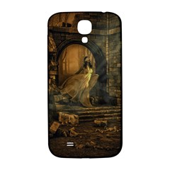 Woman Lost Model Alone Samsung Galaxy S4 I9500/I9505  Hardshell Back Case