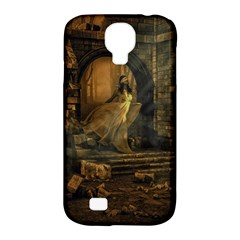 Woman Lost Model Alone Samsung Galaxy S4 Classic Hardshell Case (PC+Silicone)