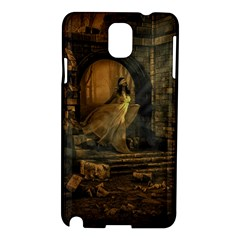 Woman Lost Model Alone Samsung Galaxy Note 3 N9005 Hardshell Case