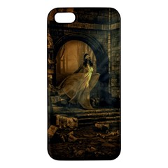 Woman Lost Model Alone iPhone 5S/ SE Premium Hardshell Case