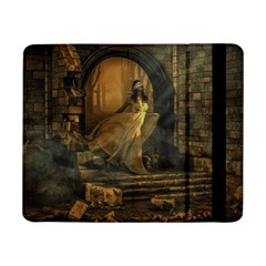 Woman Lost Model Alone Samsung Galaxy Tab Pro 8.4  Flip Case