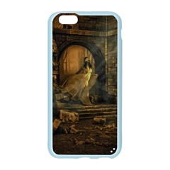 Woman Lost Model Alone Apple Seamless iPhone 6/6S Case (Color)