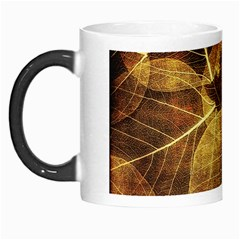 Leaves Autumn Texture Brown Morph Mugs