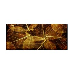 Leaves Autumn Texture Brown Cosmetic Storage Cases