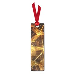 Leaves Autumn Texture Brown Small Book Marks