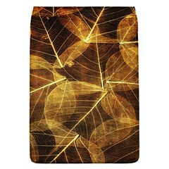 Leaves Autumn Texture Brown Flap Covers (S)