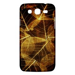 Leaves Autumn Texture Brown Samsung Galaxy Mega 5.8 I9152 Hardshell Case