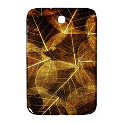 Leaves Autumn Texture Brown Samsung Galaxy Note 8.0 N5100 Hardshell Case