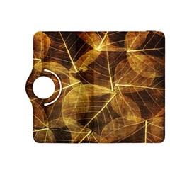 Leaves Autumn Texture Brown Kindle Fire HDX 8.9  Flip 360 Case