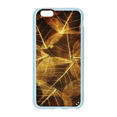 Leaves Autumn Texture Brown Apple Seamless iPhone 6/6S Case (Color)