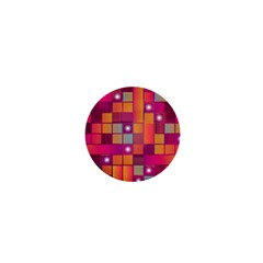 Abstract Background Colorful 1  Mini Magnets