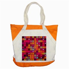 Abstract Background Colorful Accent Tote Bag