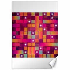 Abstract Background Colorful Canvas 20  X 30