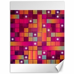Abstract Background Colorful Canvas 36  X 48