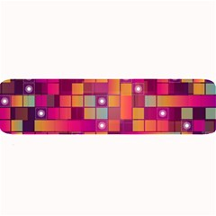 Abstract Background Colorful Large Bar Mats