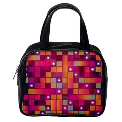 Abstract Background Colorful Classic Handbags (One Side)