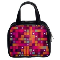 Abstract Background Colorful Classic Handbags (2 Sides)
