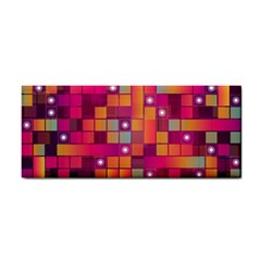 Abstract Background Colorful Cosmetic Storage Cases