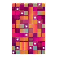 Abstract Background Colorful Shower Curtain 48  X 72  (small)