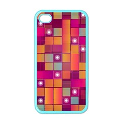 Abstract Background Colorful Apple iPhone 4 Case (Color)